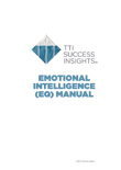 Emotional Quotient Manual, EQ Manual, Emotional Intelligence manual, emotional quotient manual, emotional intelligence manual - TTI Performance Systems, Target Training International, TTI emotional quotient manual, eq manual, emotional intelligence manual