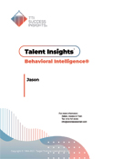 TTI Behavioral Intelligence assessment - DISC and Emotional Quotient, DISC and Emotional Intelligence, emotional quotient, emotional intelligence assessment - TTI Performance Systems, Target Training International, TTI emotional quotient, eq, emotional intelligence assessment