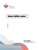 TTI Success Insights Sales Skills Index online assessment report cover - TTI Performance Systems - TTI DISC assessments