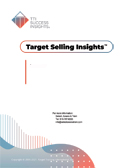 TTI Success Insights Target Selling Insights online assessment report cover - TTI Performance Systems - TTI DISC assessments
